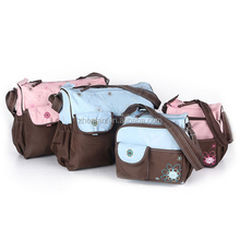 large capacity portable multi-function baby nappy changing bag