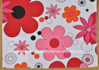 100% cotton poplin printed fabric from India