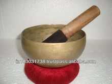 GREAT BRASS / BRONZE HAND HAMMERED SINGING BOWL