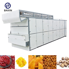 Widely Using Hot Air Vegetable Dehydrator Tomato Mesh Belt Dryer Food Drying Machine