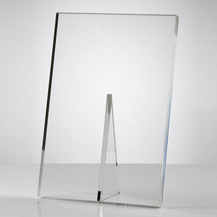 Acrylic picture display stand acrylic photo frame