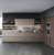 Raised Door high gloss vinyl wrap Type Ready Made Modular Kitchen Cabinets Design