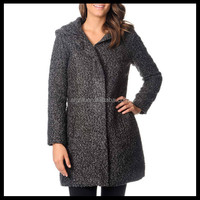 Latest Long Winter Warm Wool Women's Coat