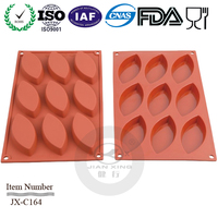 eco-friendly durable silicone leaf shaped cake mould,silicone chocolate moulds