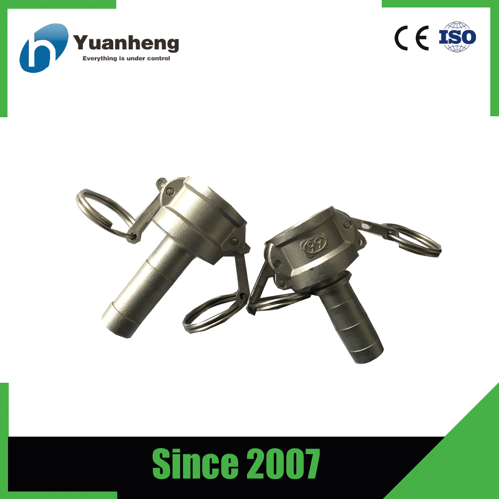 High pressure fuel quick camlock coupling