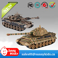 2016 Top Selling Plastic Toy Model RC Tank for Kids
