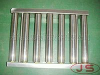 RS-3810 stainless steel roller conveyor,frame and rollers are made of stainless steel material