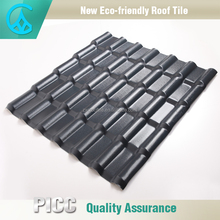 Retro Black Glossy ASA Synthetic Resin Polycarbonate Roofing Sheet Twin Wall