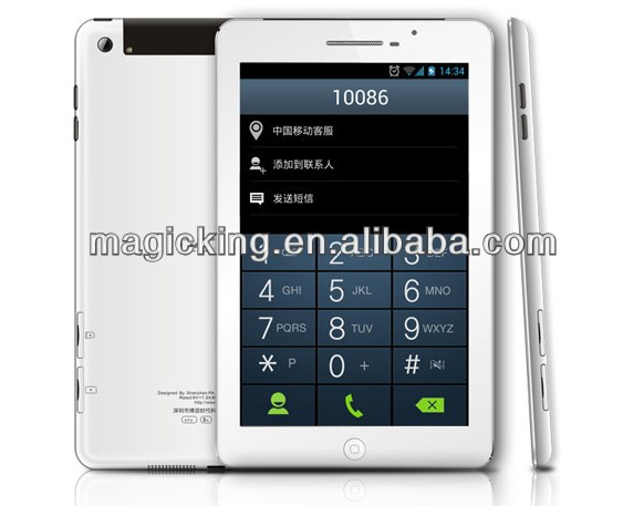 V819 3G tablet pc with 3g phone call function bluetooth gps in dubai