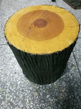Customized artificial round stump China artificial tree stumps