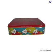 2017 new type metal biscuit tin cans