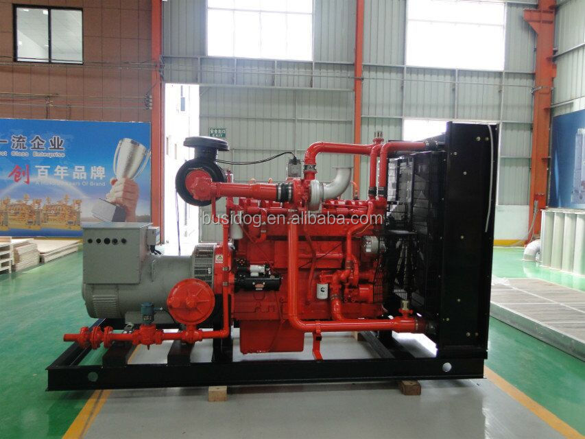 medium rated power 300kw Natural gas Generator set with CHP cogeneration system