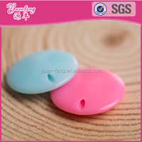 Trending Hot Products Spring Color Flat Round Shape Acrylic Loose Beads