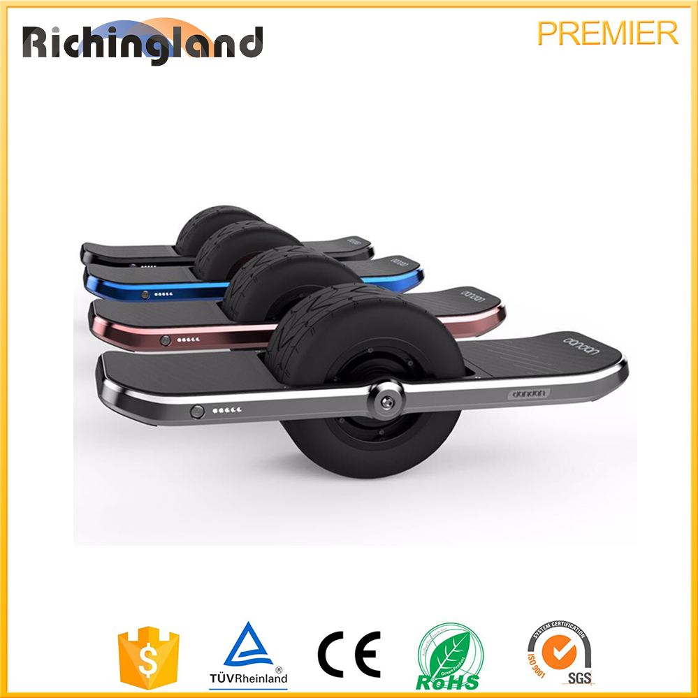 Hot new products for 2016 electric skateboard self balance unicycle one wheel skateboard hoverboard electric scooter