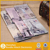 Custom business book case for ipad 5,for ipad 5 leather case