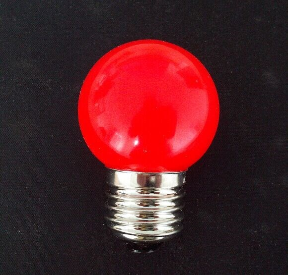 small size ball color Christmas decoration Red light led Bulbs E27