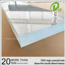 100% virgin pmma cast thick acrylic glass sheets for aquarium 100mm