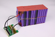 18650 Lithium Battery cell 12v 24v 36v 48v 60v 72v 10ah 15ah 20ah 30ah 40ah Electric Scooter Battery Pack
