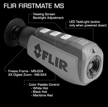 Outdoor Usage Flir MS324 Thermal Night Vision Camera