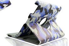 SANOXY 360 Degrees Rotating Stand PU Leather Case for iPad 2/3/4, iPad 2nd generation (iPad 2/3/4 CAMOUFLAGE ARMY)