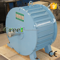 10KW hydro generator, low rpm permanent magnet alternator for water turbine, high efficiency