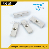 Alibaba china supplier hot sale tube speaker cheap ndfeb magnet