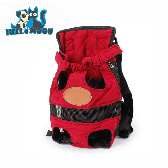 Soft Canvas Collapsible Backpack Dog Bag Pet Carrier