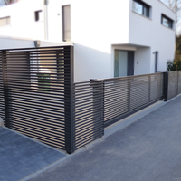 Waterproof And Anti Rust Aluminum Fence