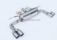 Top quality polished stainless steel exhaust muffler exhaust system for BMW F30 320 tuning