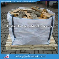 china pp Cattle feed fibc bag 300kg-2000kg , ton bag coated woven polypropylene bags fibc for animal feed