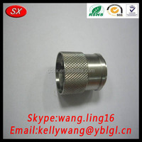 China Manufacture Custom CNC Knurled Thread Component Spare Part For Aftermarket Parts Pass RoHS/ISO