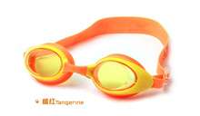 orange Helmet Goggles Swimming Sports Motorcycle Goggles India 975-2