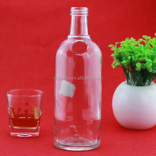 sale decorating crystal clear flint Large Glass Wine Bottle