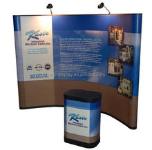 Exhibition booth fabric pop up stands for trade show