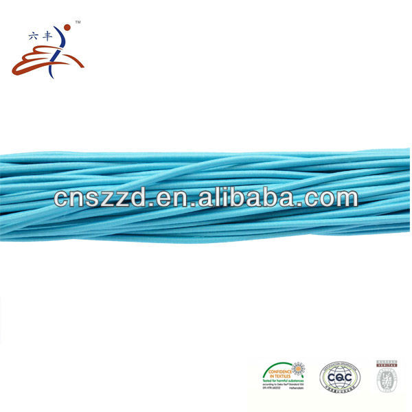 Colored Spiral Coiled Elastic Cord