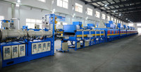 NBR and PVC rubber A/C insulation foaming sponge sheet/hose production line
