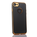 360 Degree Full-Body Cover Back TPU+Front PC Phone Case With Electroplating Frame for Iphone 7 7plus