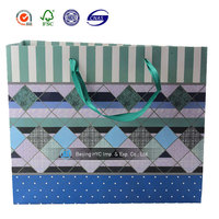 ribbon tie gift bags