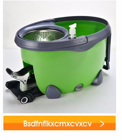 eco-friendly material mop High quality stainless steel spin mop basket LWB-1