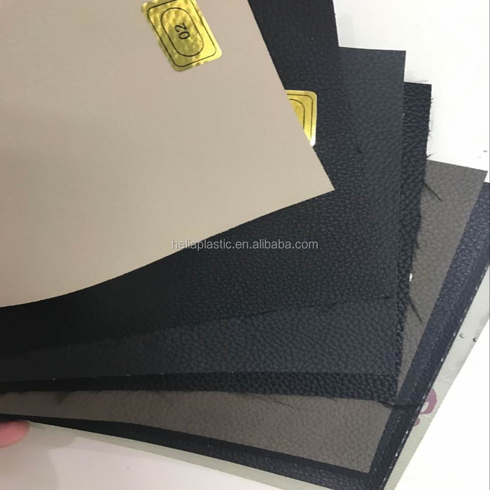 Stock Leather for pvc car seat, pvc synthetic leather in stock, car use stock artificial leather