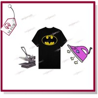 A4 Dark Inkjet Cotton T-shirt Heat Tranfer Sheets Paper