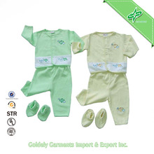 Export Baby Clothes Safe Cotton Wholesale Baby Suit