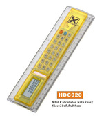 Promotion ruler with calculator