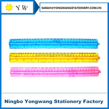 R3035 plastic ruler with handle grip