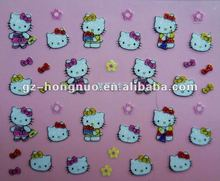 So Lovely Hello Kitty 3D Design Nail Art Stickers 24 sheets Different Design Lot HN1161