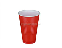 Disposable PS plastic drinking double wall insulated party cup