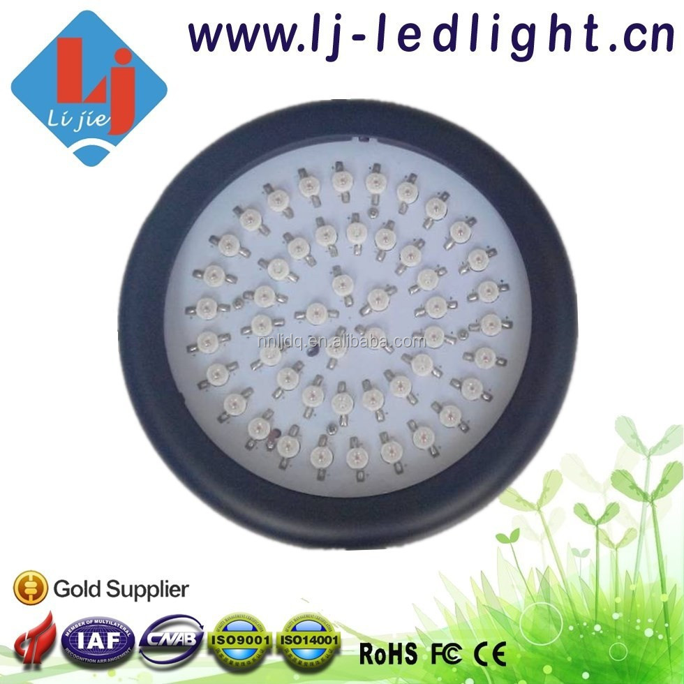 2015 Promotion 147W 49*3W Bridgelux Chip Mini UFO Grow LED Light Full Spectrum for Aeroponic system, Hydroponic System