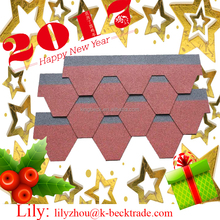 wholesale roofing shingles 3-Tab Asphalt Shingles Roof colored shingles roof design with low price