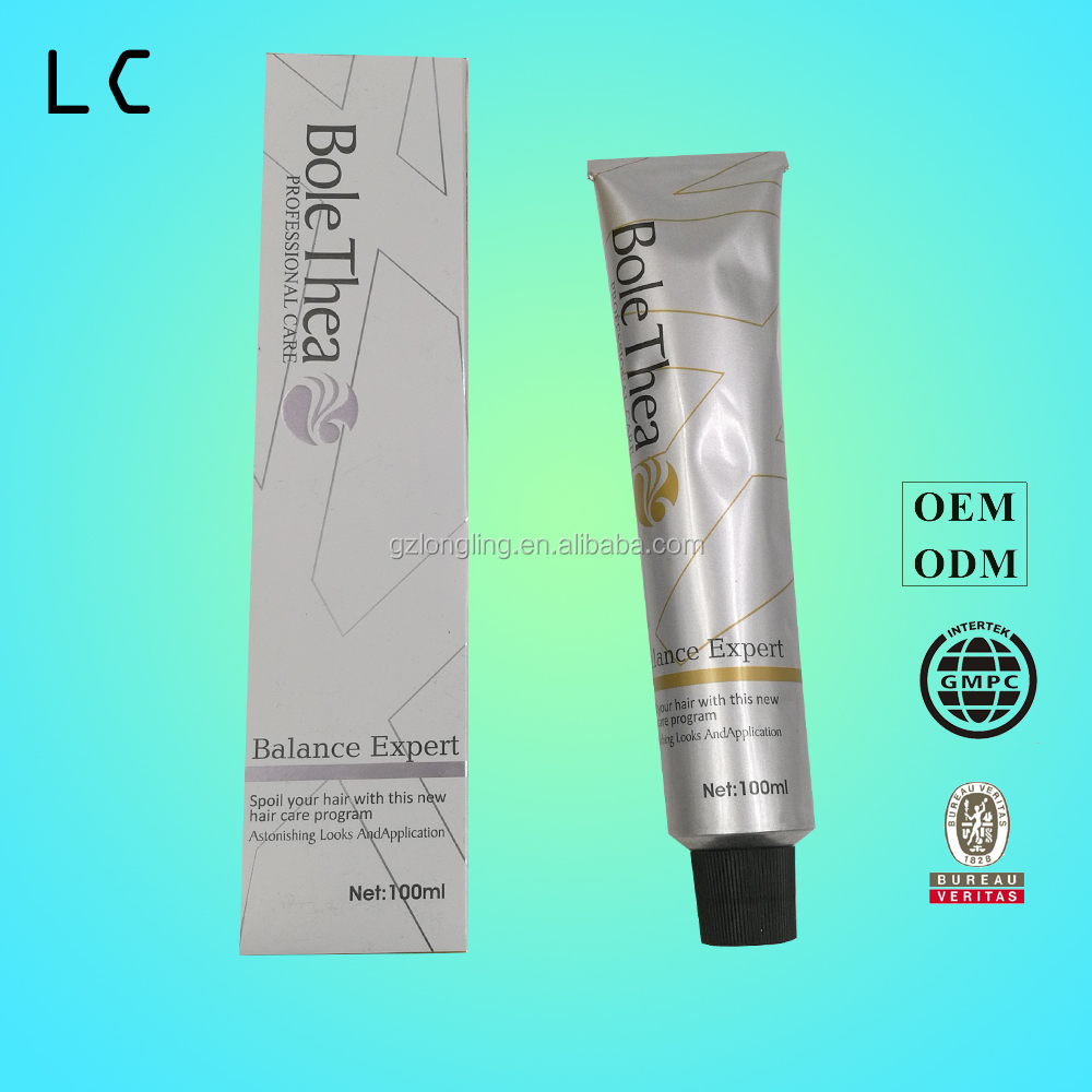 Strong effect hair color cream made by Guangzhou Factory