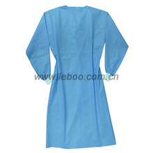 High quality non sterile disposable hospital gown for doctor